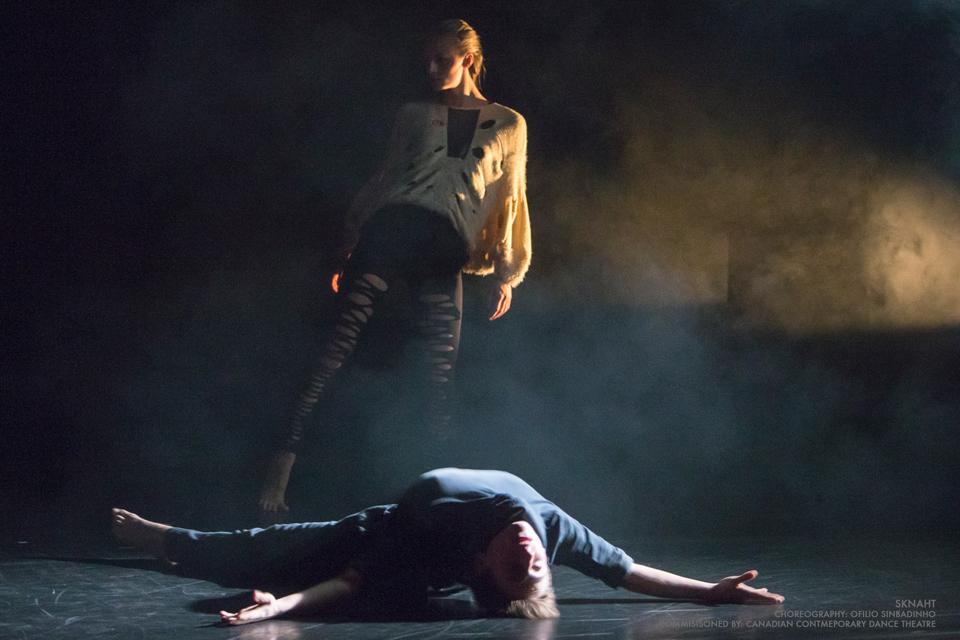 'Sknaht' presented during CCDT's Wintersong @ Fleck Dance Theatre | Toronto | Ontario | Canada